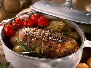 r 244 ti de veau au four facile recette sur cuisine actuelle