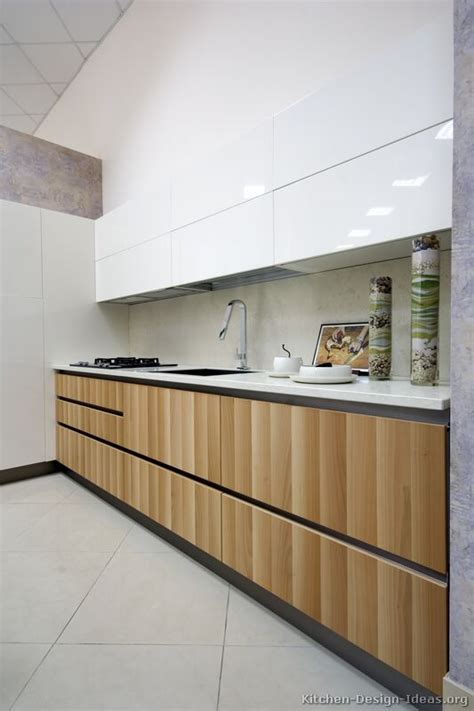 white and wood kitchen cabinets pictures of kitchens modern light wood kitchen Modern