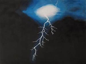 Lightning Painting by Dina Day