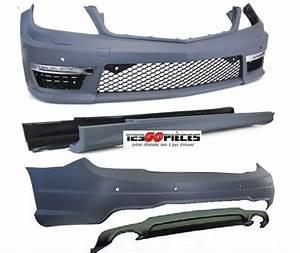 Pieces Mercedes Pas Cher : kit carrosserie look c63 amg pour mercedes classe c w204 2011 2014 1 499 90 pi ces design ~ Gottalentnigeria.com Avis de Voitures