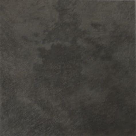 rustica black 12 in x 12 in black porcelain floor