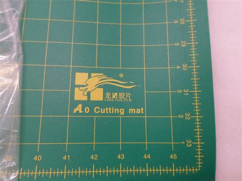 A0 Non Slip Double Sided Pvc Durable Self-healing Cutting