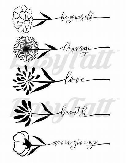 Easytatt Tattoos Inspirations Floral Temporary Jap
