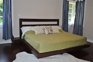 Diy queen platform bed frame plans quick woodworking for King bed designs