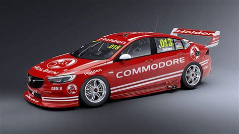 holden commodore supercars racer revealed