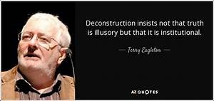 Terry Eagleton ... Derrida Jacques Quotes