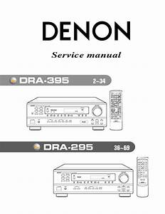 Dra 395 Manuals