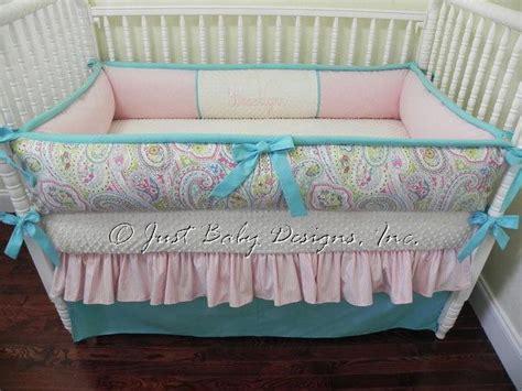 Paisley Baby Bedding by Custom Crib Bedding Set Paisley By Babybedding