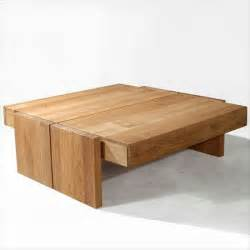 Wohnzimmertisch Holz Modern by Large Modern Wood Coffee Table Glasses Modern Wood