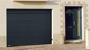 vente et pose porte de garage en bois pvc et alu oise With porte de garage enroulable et fabrication de porte en bois