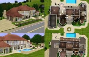 mansion floor plans 000 jpg 570 215 368 sims stuff mansions and free
