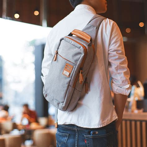 group cross body shoulder bag small cell phone canvas strap sling men messenger bags leather