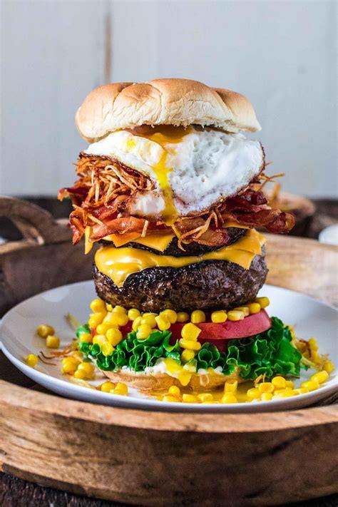 cuisine burger epic burger with egg 39 s cuisine