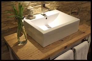 Waschtisch Aus Holz Für Aufsatzwaschbecken : weitere projekte manufaktur 73 ~ Watch28wear.com Haus und Dekorationen
