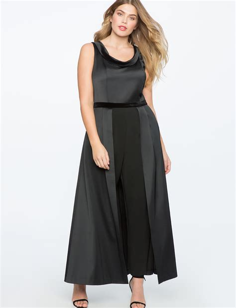 jumpsuit with skirt eloquii