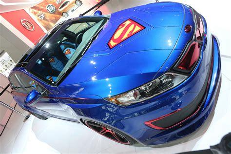 Kia Optima Hybrid Superman Autobloggr