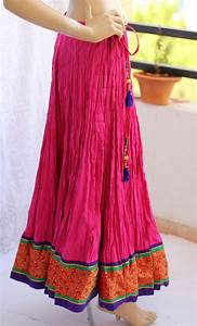 105 best images about indian skirt on Pinterest | Maxi skirts Skirts and Cotton