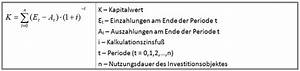 Kapitalwert Berechnen Formel : organisationshandbuch quantitative bewertungsmethoden ~ Themetempest.com Abrechnung