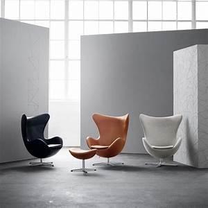 Fritz Hansen Egg Chair : fritz hansen aktion egg chair das ei sessel hocker leder ambientedirect ~ Orissabook.com Haus und Dekorationen