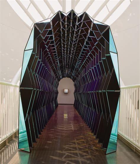 colour tunnel artwork studio olafur eliasson