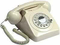 old fashion phones Retro Vintage Style Old Fashioned Telephone - Ivory ...