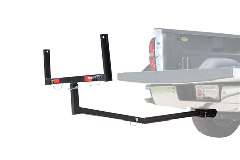 titan truck bed extender roof carrier for 2 quot trailer hitch