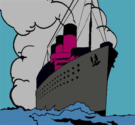 Barco De Vapor Dibujo by Dibujo De Barco De Vapor Pintado Por 67uhy En Dibujos Net