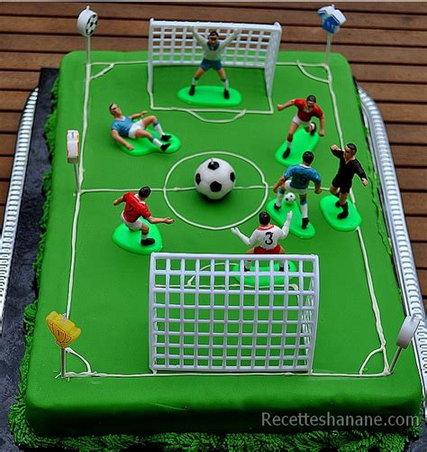 decoration gateau anniversaire football g 226 teau football match de foot