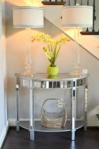 foyer decor using pier 1 elegant glass candlestick ls