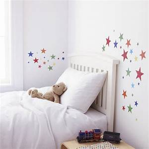 childrens bright star wall stickers by kidscapes With star wall decals