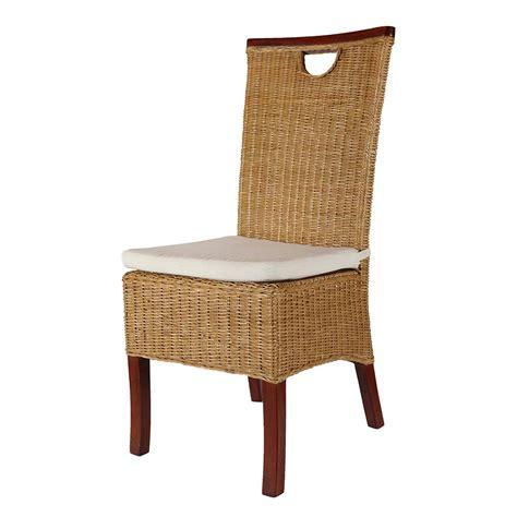 chaise massante pas cher chaise rotin pas cher chaise acajou chaise salle à manger en rotin racine miel rotin design