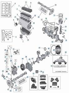Mj Comanche 2 5l 4 Cylinder Engine