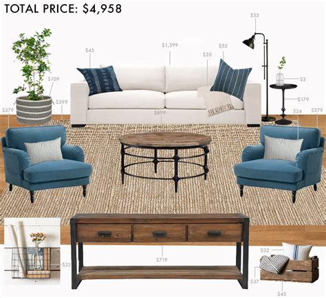 farmhouse style on a budget amazing farmhouse furniture budget living room modern farmhouse emily henderson