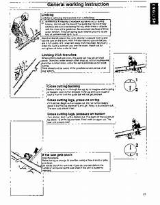 Husqvarna 36 41 Chainsaw Owners Owners Manual  1995 1996