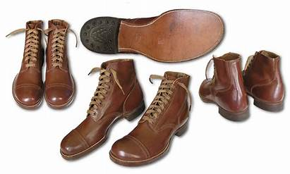 Service Type 6f Shoes 1941 Qmc Specification