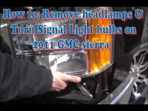 change a turn signal bulb 2014 camaro autos post