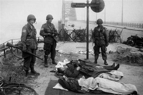 battle  nijmegen bridge  world war ii pinterest