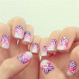 Nail Art: Cute N Easy Nail Designs Using Pen, Awesome of ...