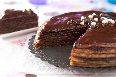 la cuisine nantes recette de gâteau de crêpes au chocolat facile et rapide
