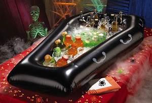 Buffet Halloween : inflatable coffin halloween cooler buffet the green head ~ Dode.kayakingforconservation.com Idées de Décoration