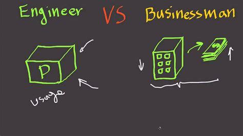 Engineer Vs Businessman  Fast Business Skills Youtube