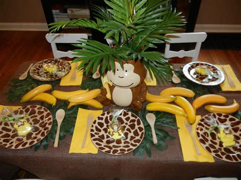 Monkey Baby Shower Decorations Ideas  Baby Shower For Parents