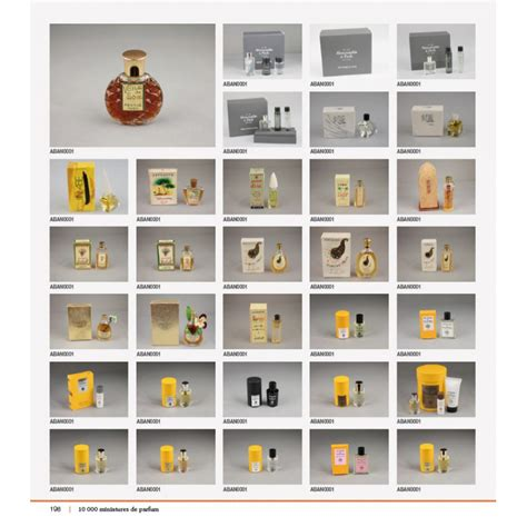 10 000 miniatures de parfun