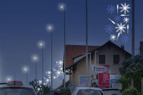 decorations lumineuses festives pour ville  centres