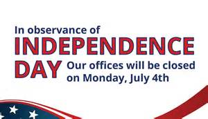 offices closed monday july 4th 2016 in observance of independence day tottori allergy