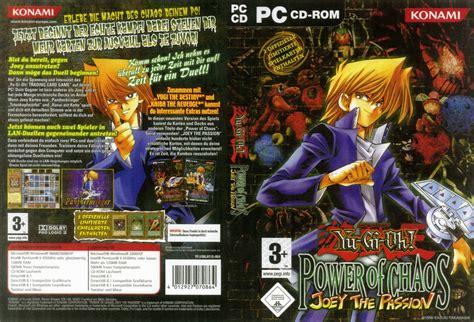yu gi oh joey passion pc games chaos power yugioh anime filmovizia dvd poster