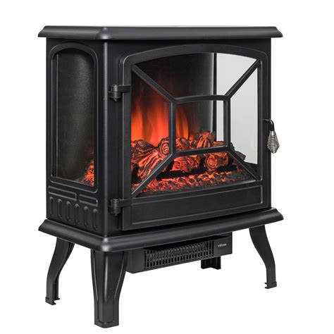 electric fireplace logs 20 quot black electric fireplace heater free standing 2