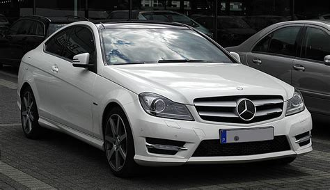 Exclusive reports and current films: ファイル:Mercedes-Benz C 250 CDI BlueEFFICIENCY Coupé Edition 1 (C 204) - Frontansicht, 2. Juli 2011 ...