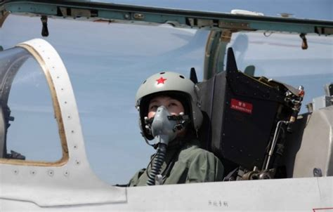 China's First Female Fighter Pilots Showing The Skies Have
