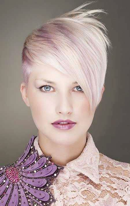 short blonde lavender hair blonde hairstyles